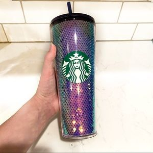 Starbucks Venti Sequins 2020 Holiday 20 Oz Cup